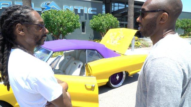 Kobe Bryant Pontiac Convertible | @kobebryant