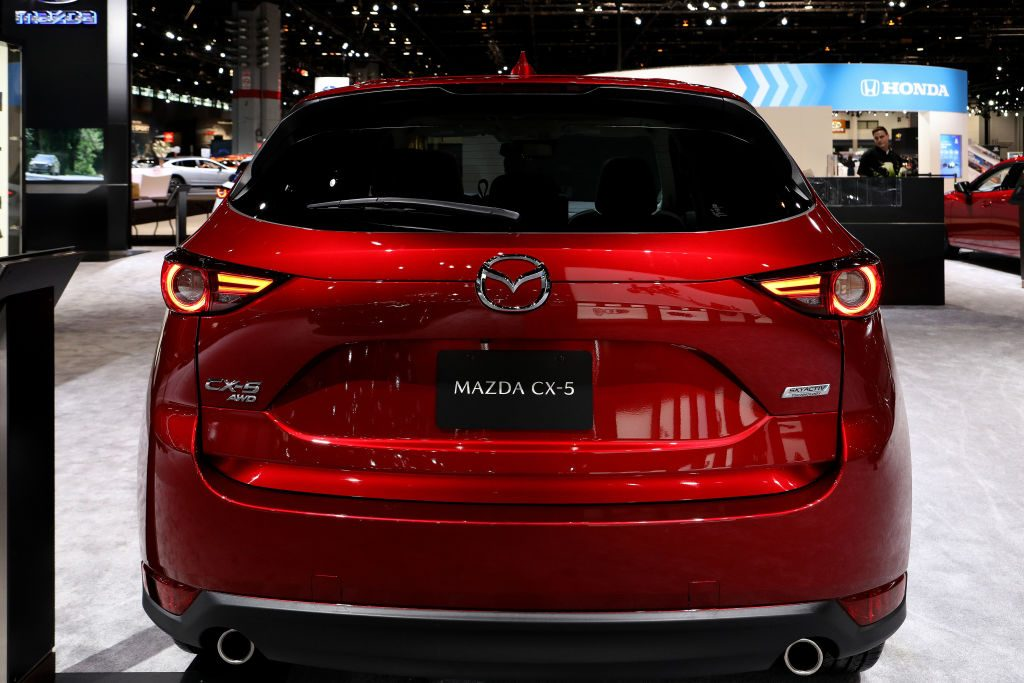 The 2019 Mazda CX-5 at the Annual Chicago Show