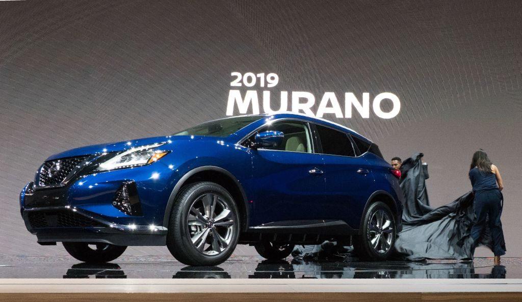 The 2019 Nissan Murano at AutoMobility in LA