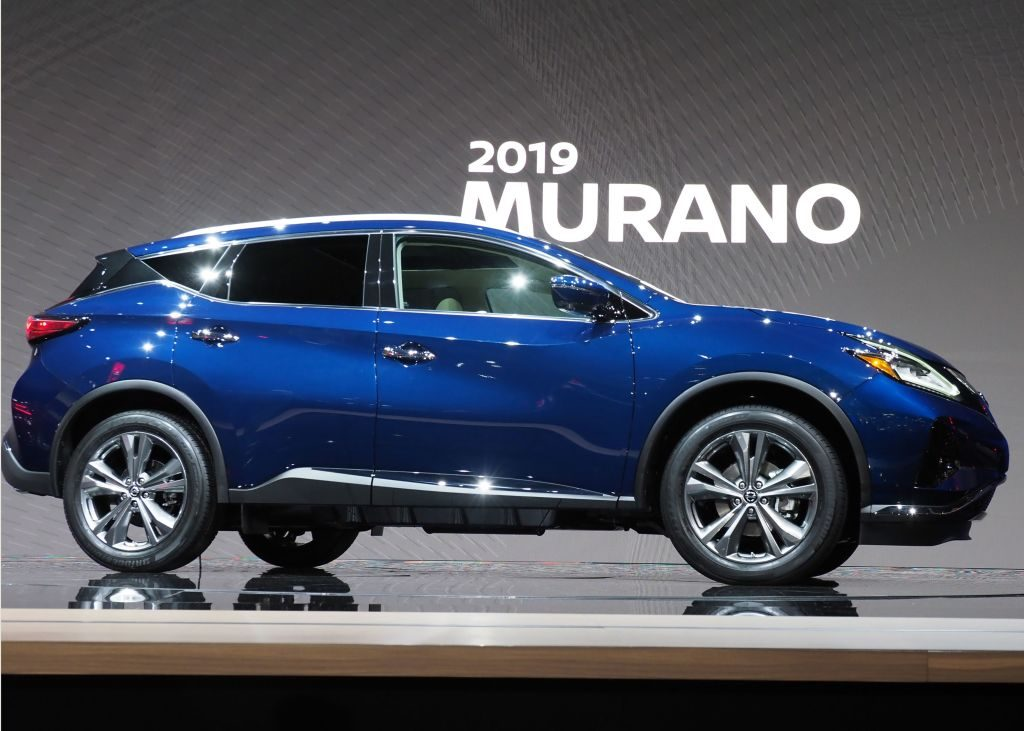 The 2019 Nissan Murano at AutoMobility LA