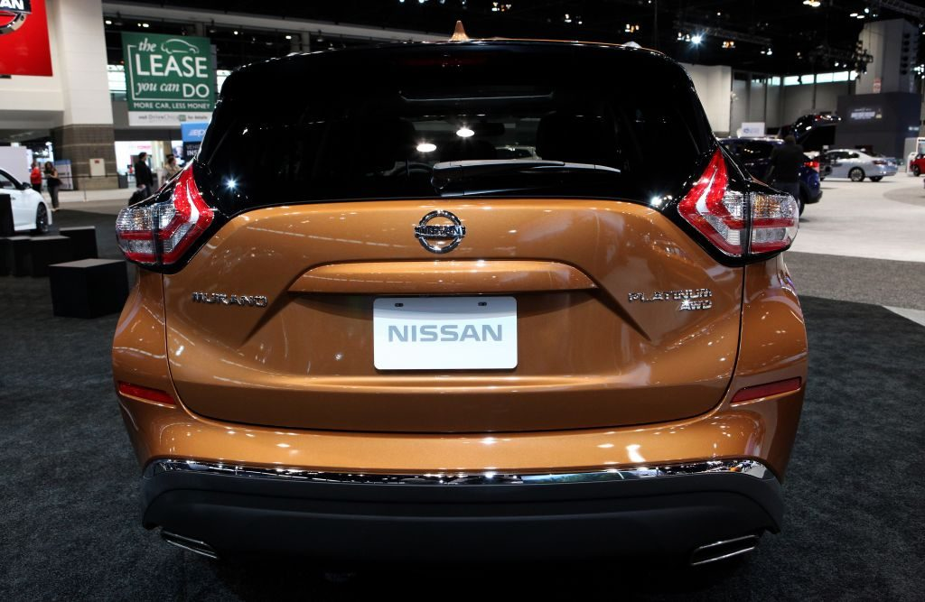 The Nissan Murano at the Annual Chicago Auto Show