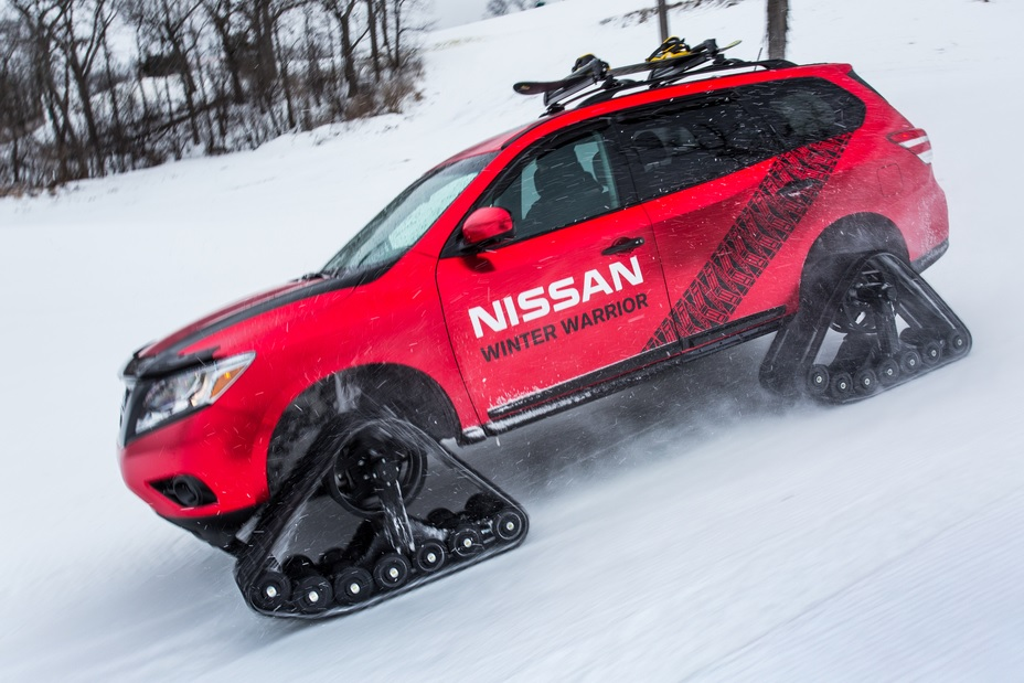 Nissan Rogue Winter Warrior