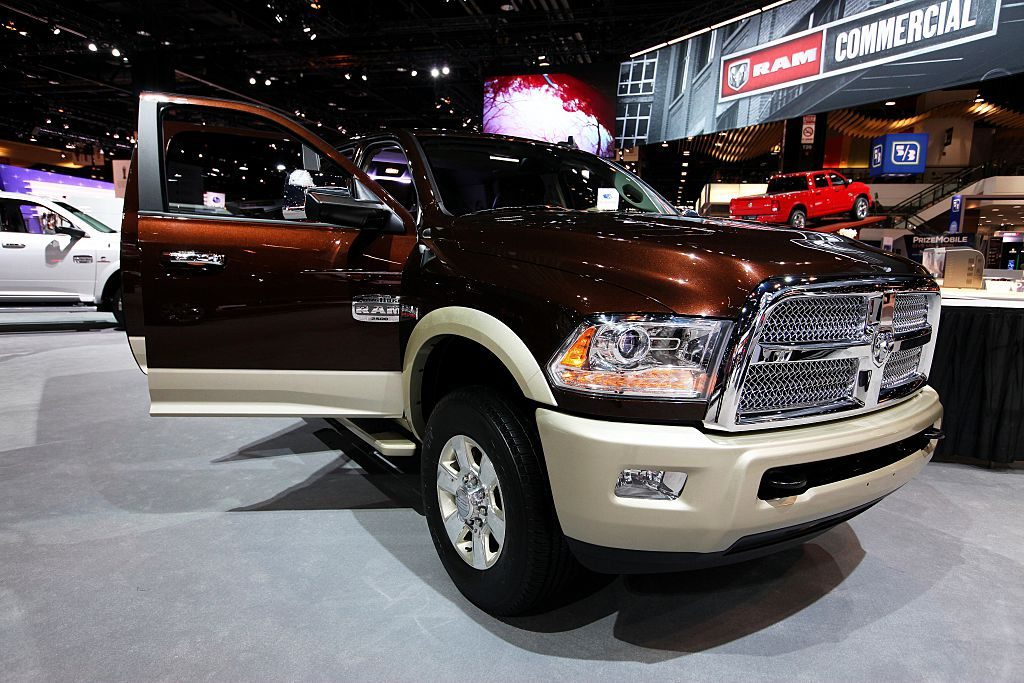 The 2015 RAM 2500 Longhorn on display at the Annual Chicago Auto Show