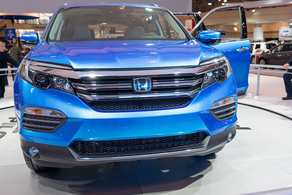 The Honda Pilot at the Canadian International AutoShow