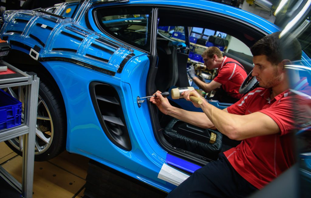 Porsche Manufacturing | Getty-0