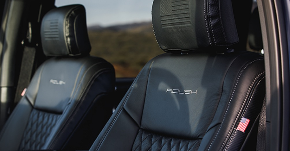 Roush Ford F-150 Tactical Edition seats