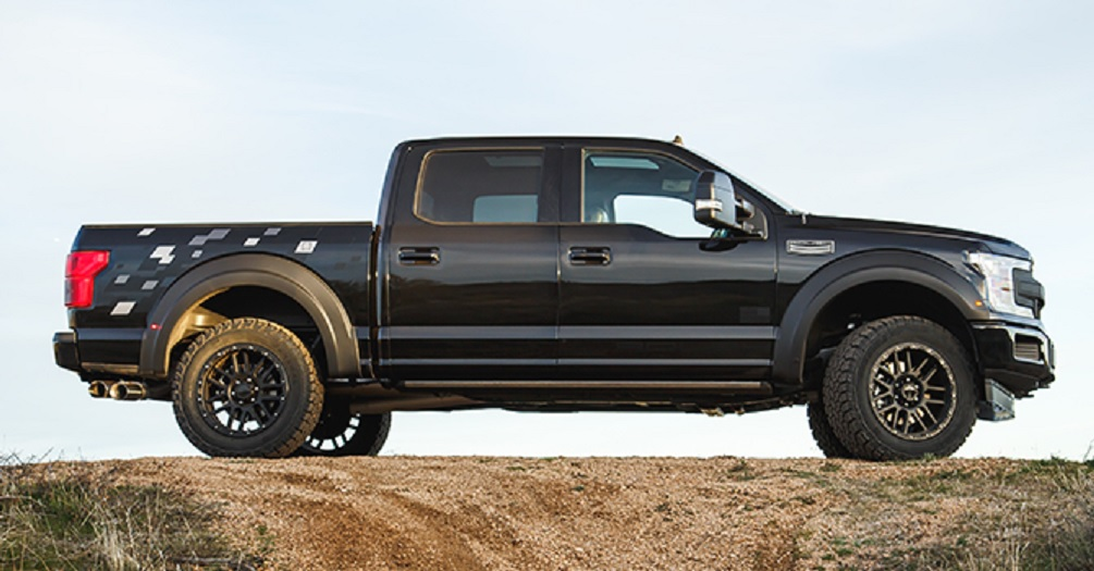 Roush Ford F-150 Tactical Edition side
