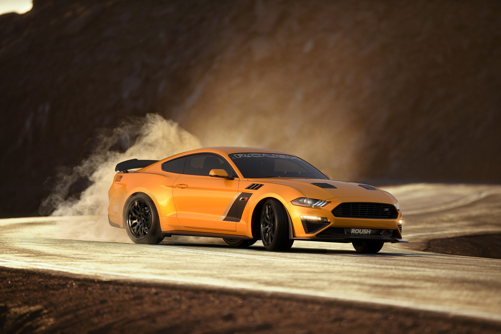 For 8k Roush Can Turn Your Mustang Gt Into A Hellcat Fighter
