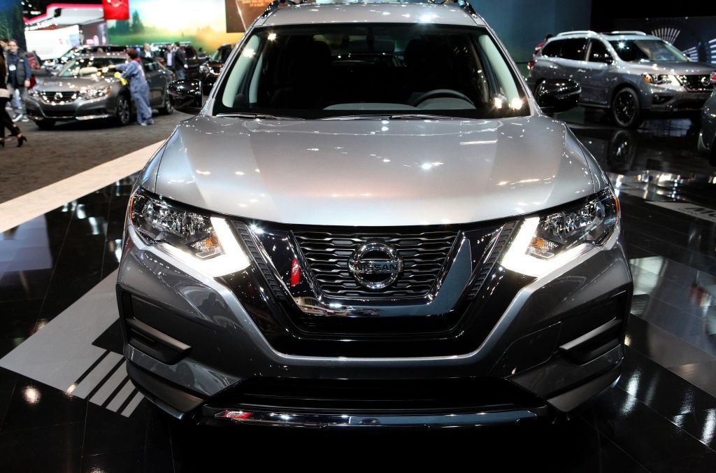 The Nissan Rogue on display at the 109th Annual Chicago Auto Show