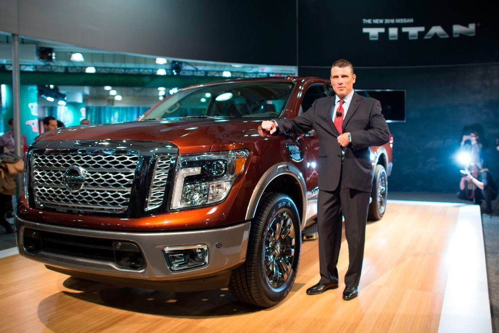 The Nissan Titan at the New York International Auto Show