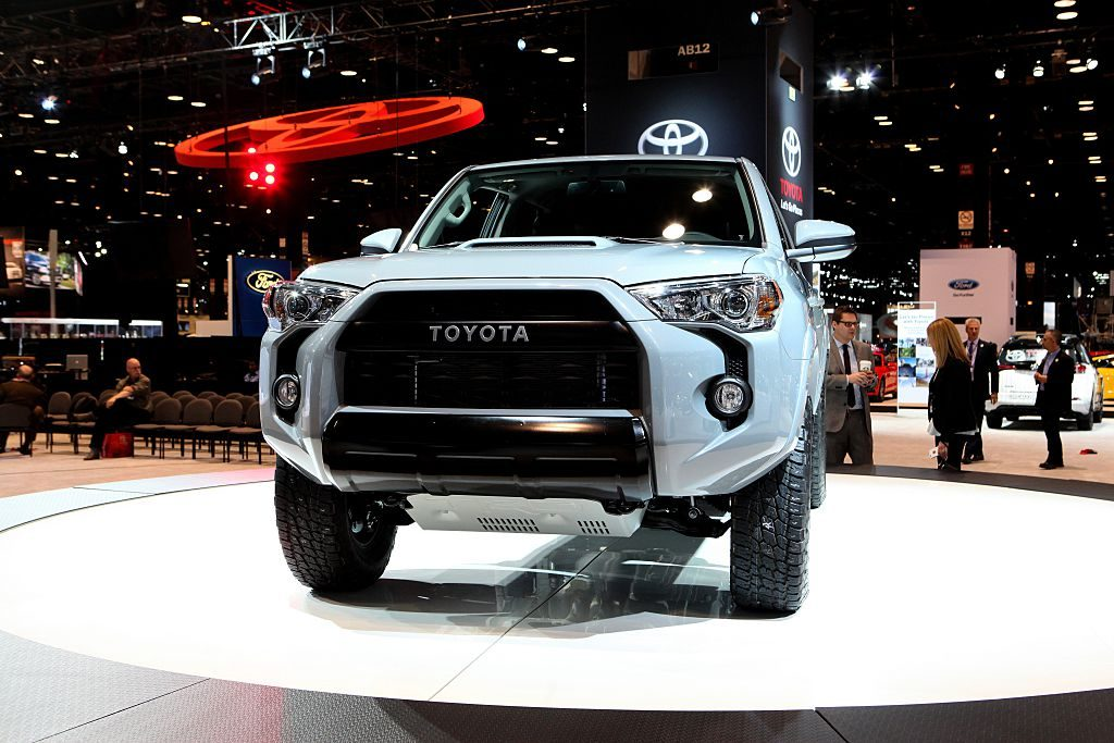 The Toyota 4Runner on display at the 108th Annual Chicago Auto Show