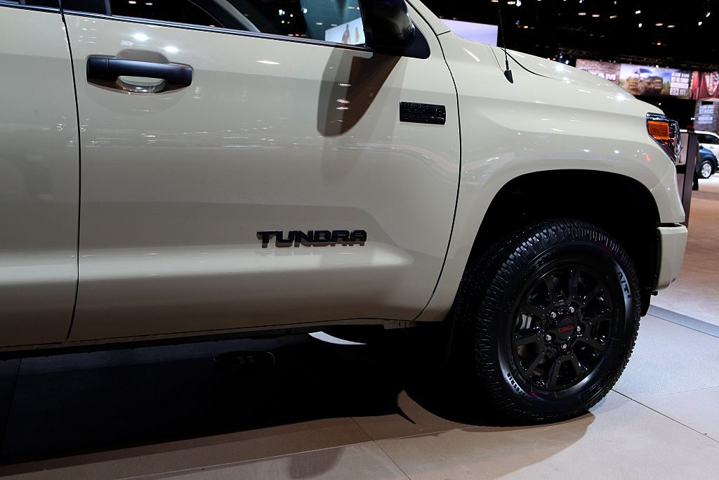 The Toyota Tundra at the Annual Chicago Auto Show