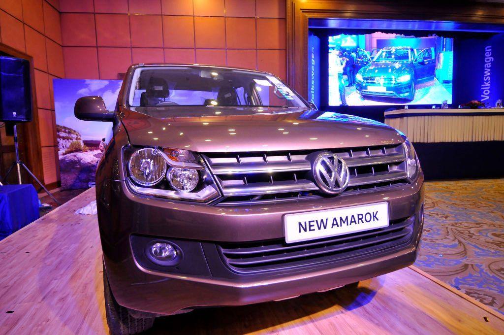 The Volkswagen Amarok unveiled by Volkswagen Nepal