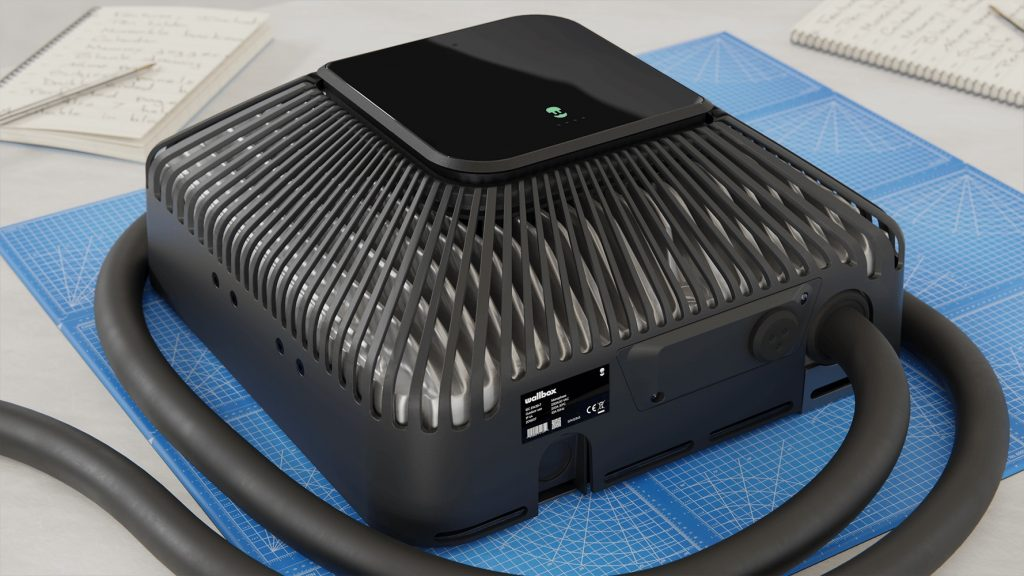 Wallbox Quasar bi-directional EV charger
