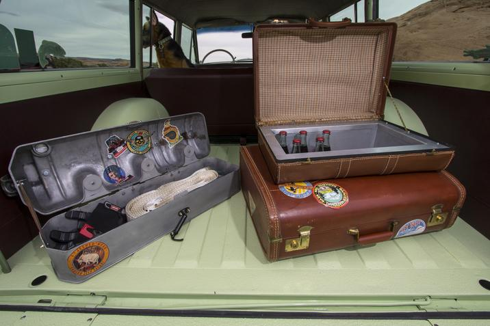 1965 Jeep Wagoneer Roadtrip cargo area