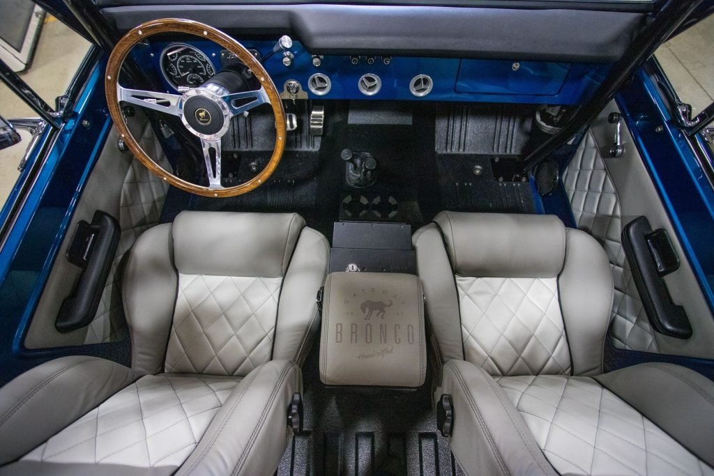 1966 Gateway Ford Bronco Coyote interior