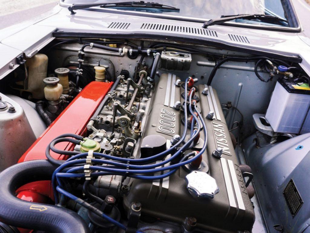1970 Nissan Fairlady Z Z432 engine bay