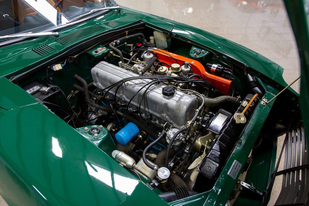 1971 Datsun 240Z engine bay