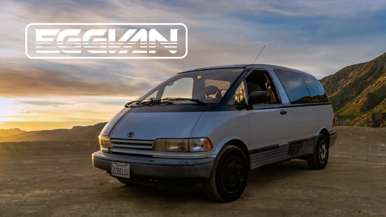 the toyota previa minivan is now a desirable classic the toyota previa minivan is now a