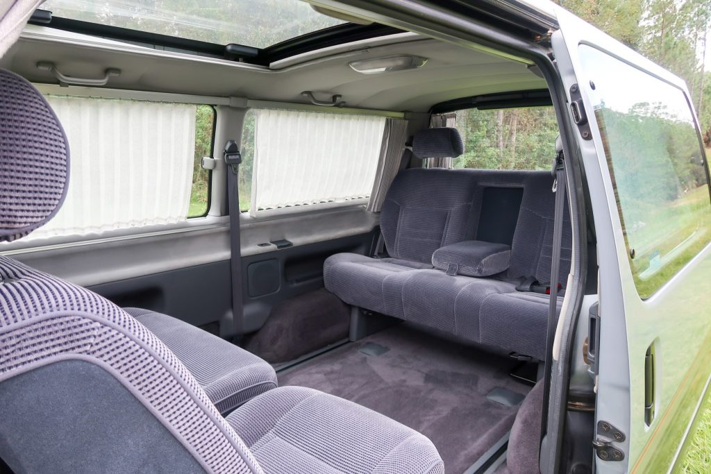 1992 Toyota HiAce Super Custom interior rear