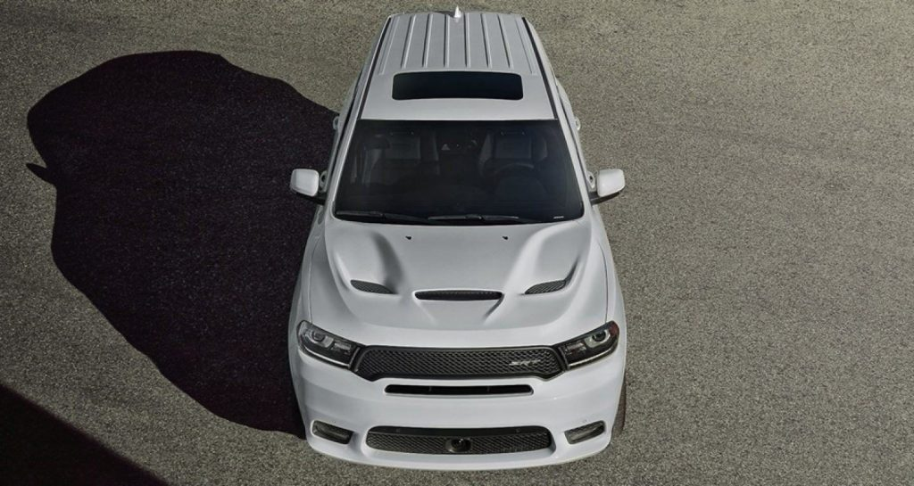 2019 Dodge Durango SRT overhead shot