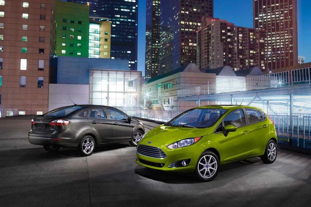 2019 Ford Fiesta sedan and hatchback