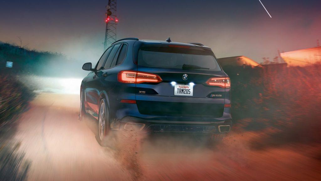 2020 BMW X5 M50i rear