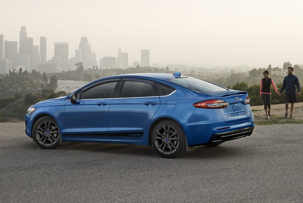 2020 Ford Fusion SE with Appearance Package