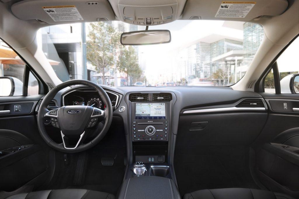 2020 Ford Fusion Titanium interior