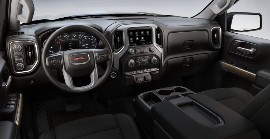 2020 GMC Sierra 1500 Elevation interior