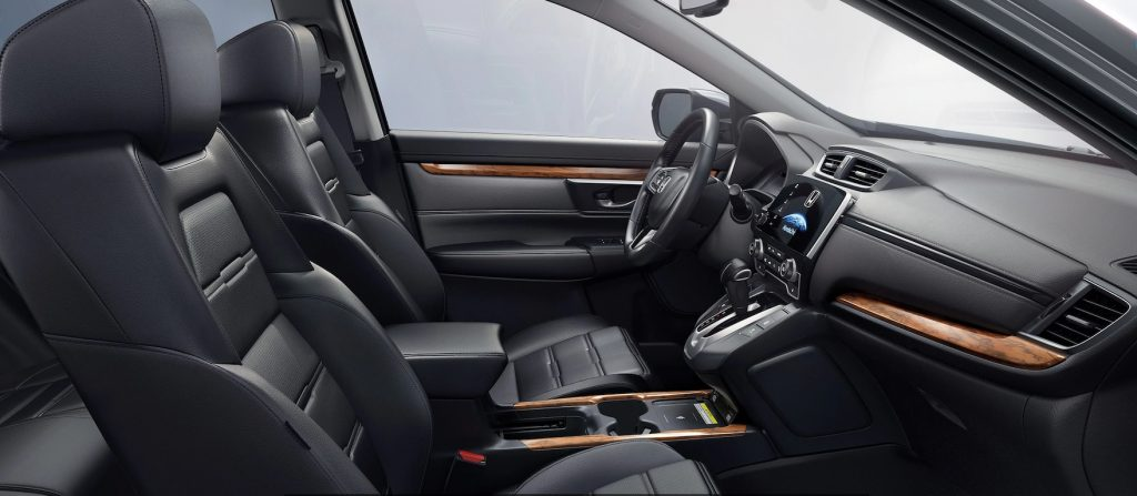 2020 Honda CR-V Touring interior