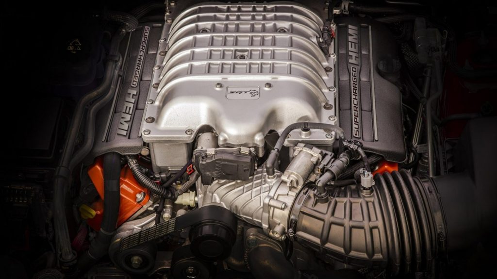 2020 Jeep Grand Cherokee Trackhawk engine