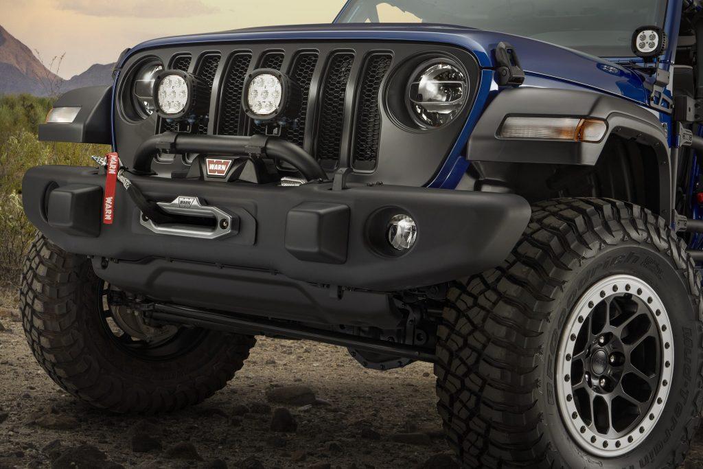 2020 Jeep Wrangler JPP20 bumper