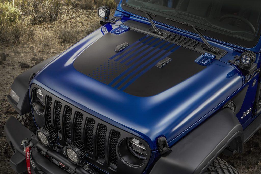 2020 Jeep Wrangler JPP20 hood