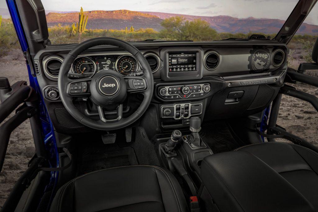 2020 Jeep Wrangler JPP20 interior