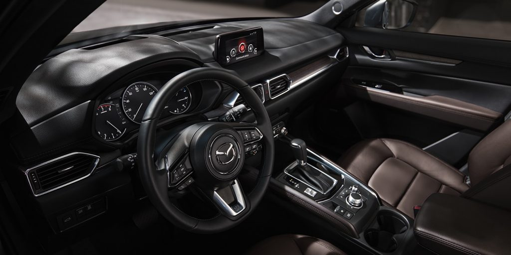 2020 Mazda CX-5 Signature interior