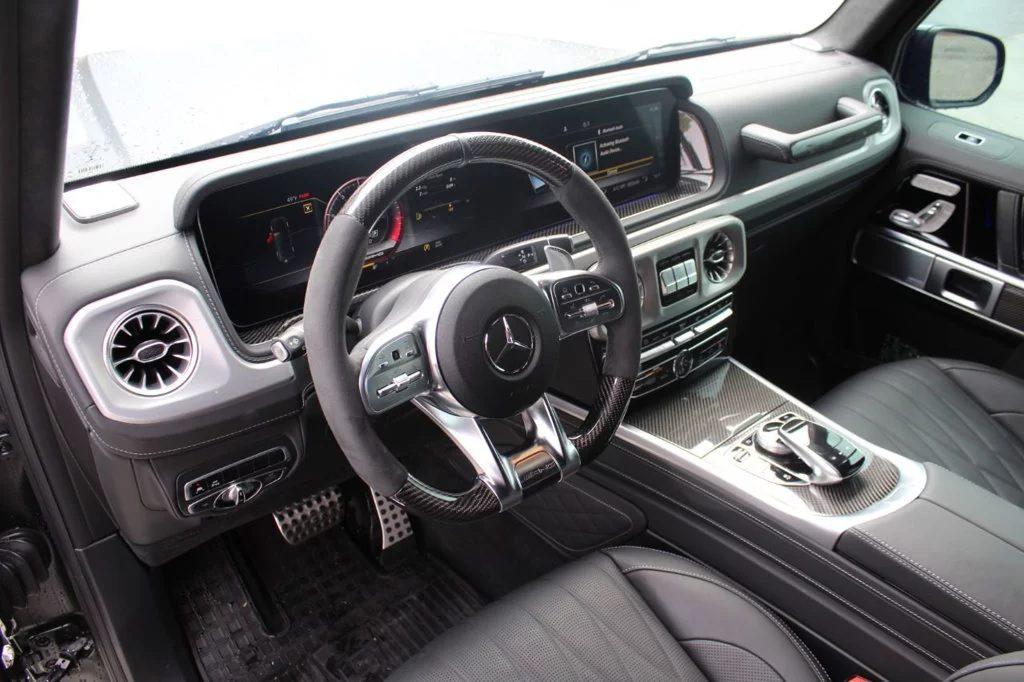 2020 Mercedes-Benz G63 AMG center console