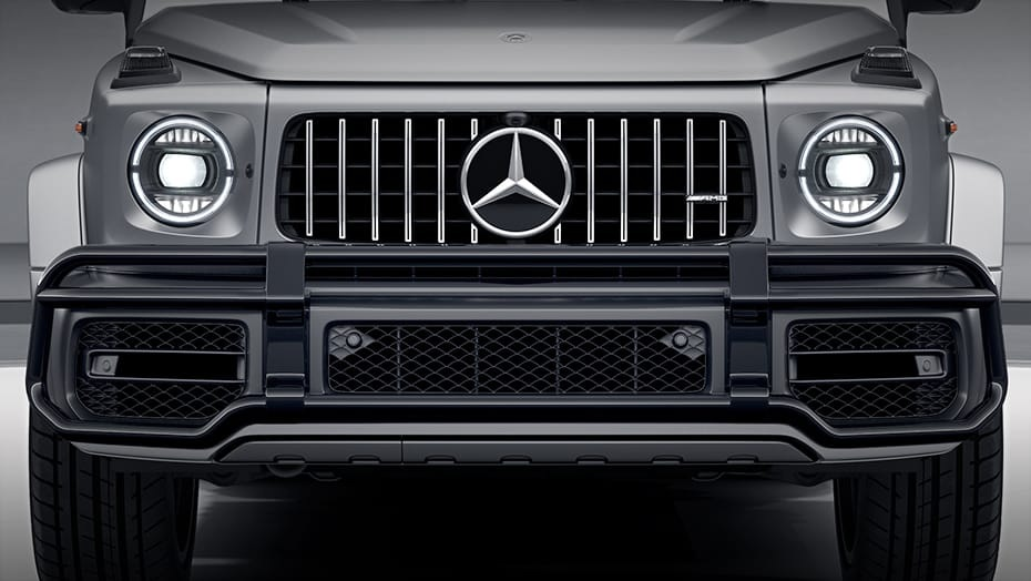 2020 Mercedes-Benz G63 AMG front detail