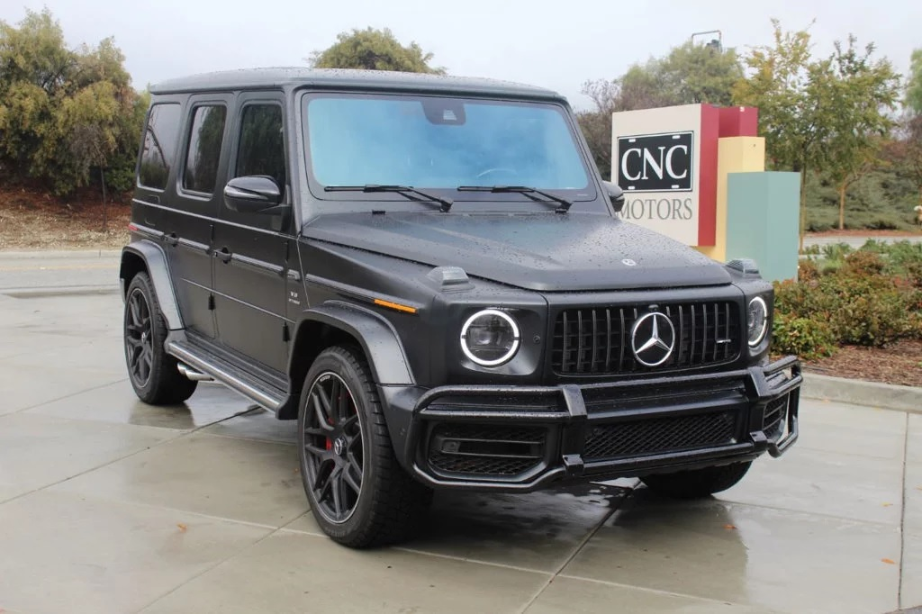 The $200k Mercedes G63 AMG's Problem Isn't With the SUV
