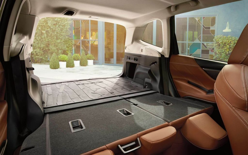 2020 Subaru Forester Touring rear cargo area