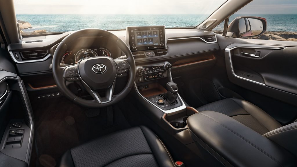 2020 Toyota RAV4 Limited interior