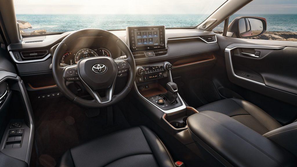 2020 Toyota RAV4 Limited interior
