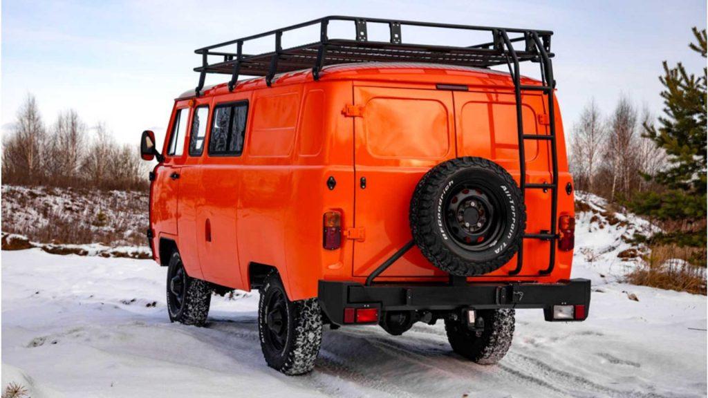 2020 UAZ SGR Combi Expedition Van | UAZ