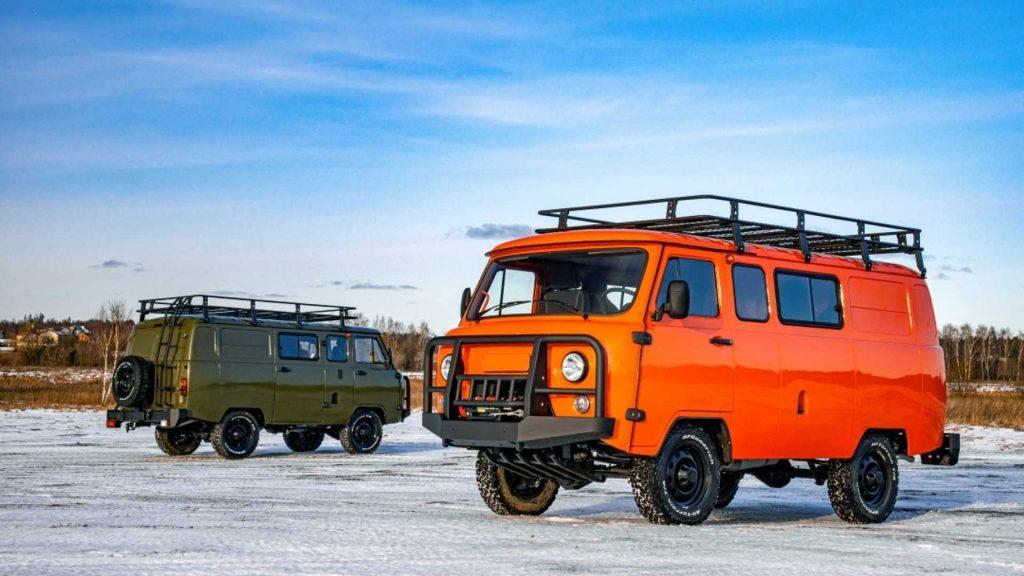 2020 UAZ SGR Combi Expedition Van | UAZ-1