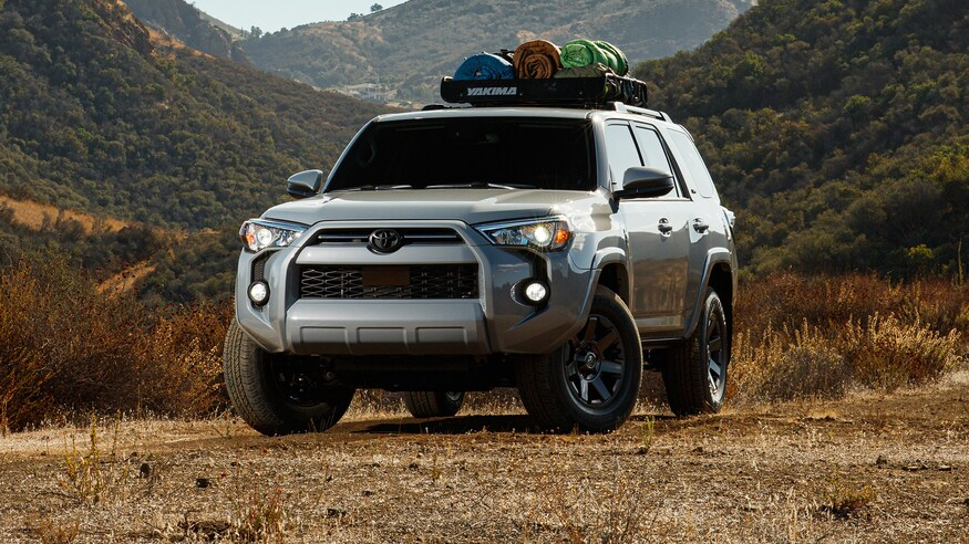 2021-Toyota-4Runner-Trail-Edition parked in gravel