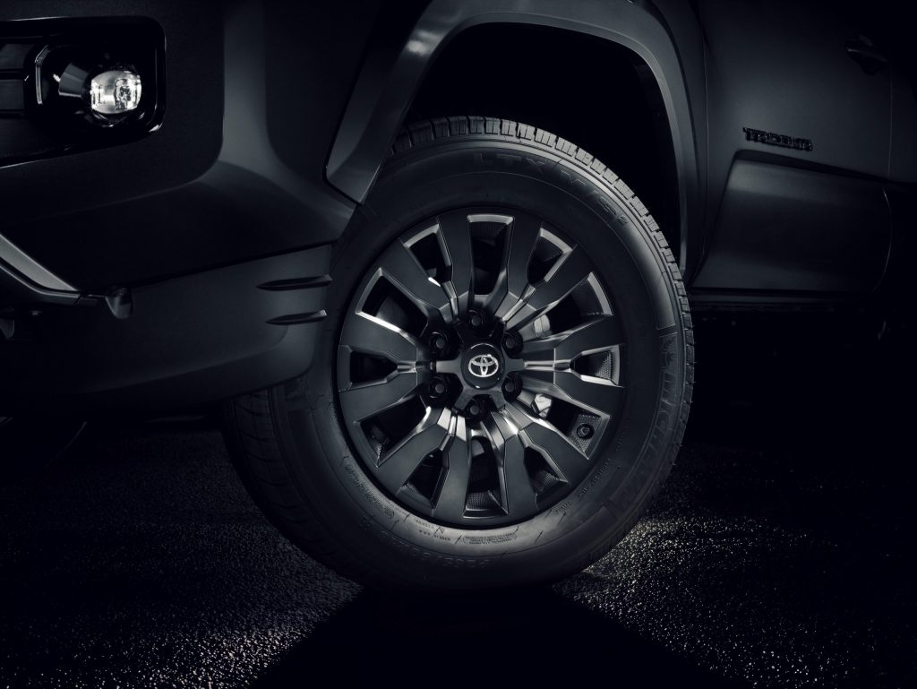 2021 Toyota Tacoma Nightshade wheels