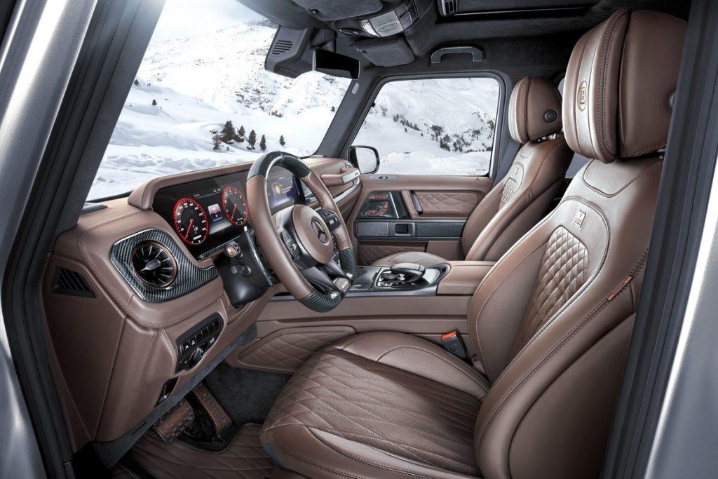Brabus 800 Adventure XLP First Edition interior