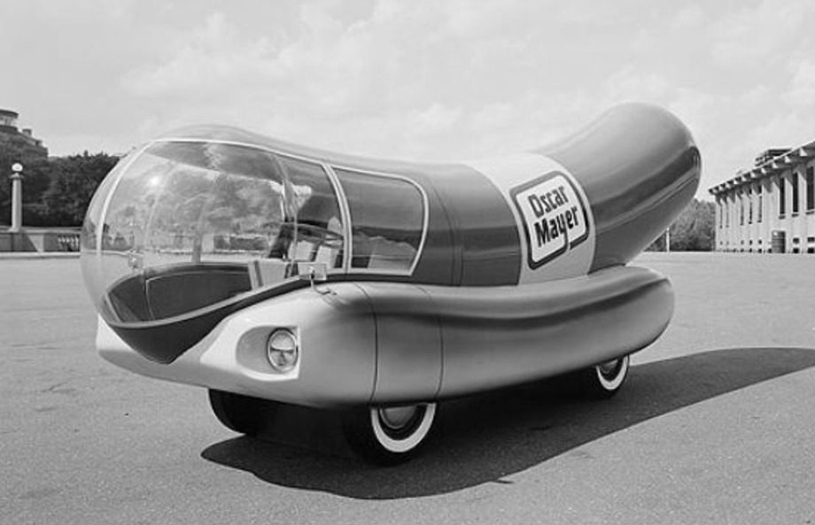 Brooks Stevens Weinermobile design | Oscar Mayer
