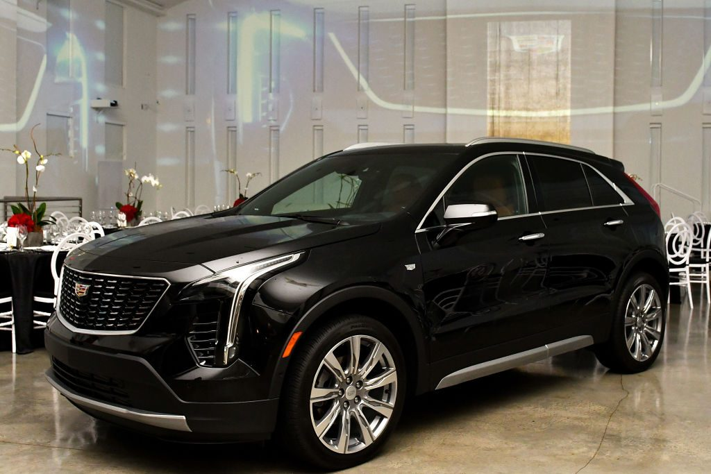 Cadillac XT4 on display at Cadillac Welcome Luncheon At ABFF: Black Hollywood Now at The Temple House