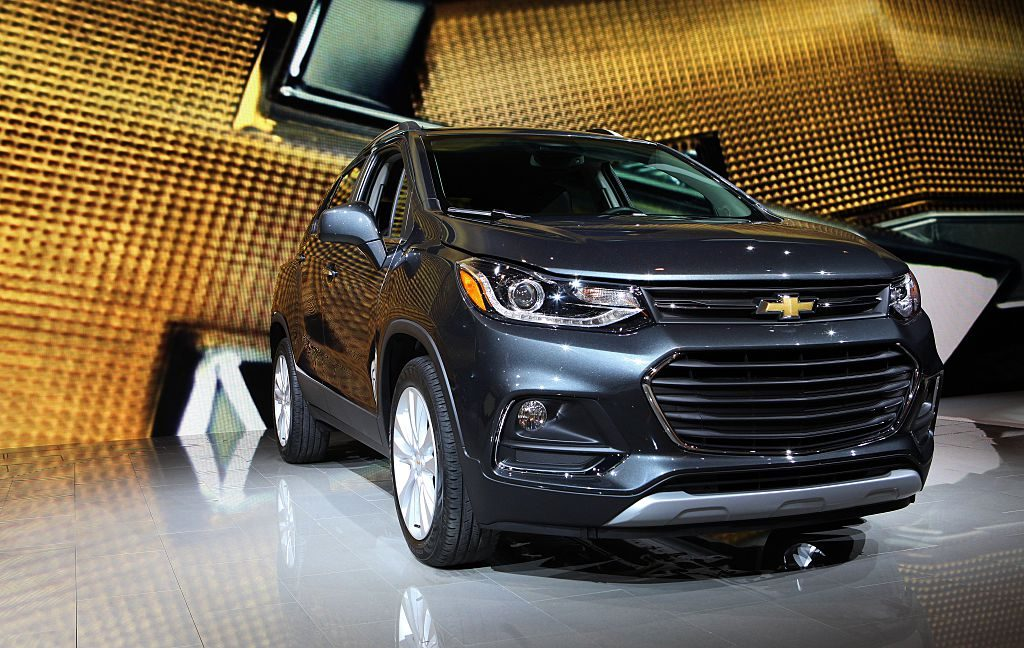 2017 Chevrolet Trax Premier is on display at the 108th Annual Chicago Auto Show at McCormick Place